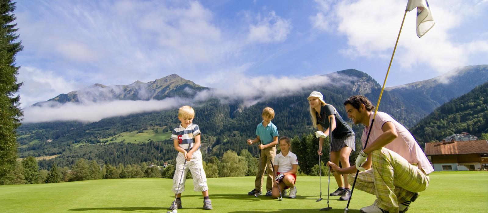 Golfurlaub für die ganze Familie im Gasteiner Tal