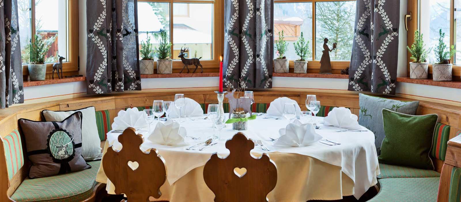 Gemütlich und stilvoll - das Untermüllnergut Restaurant