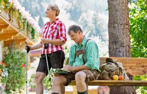 Wandern mit Brigitte und Paul im Gasteinertal