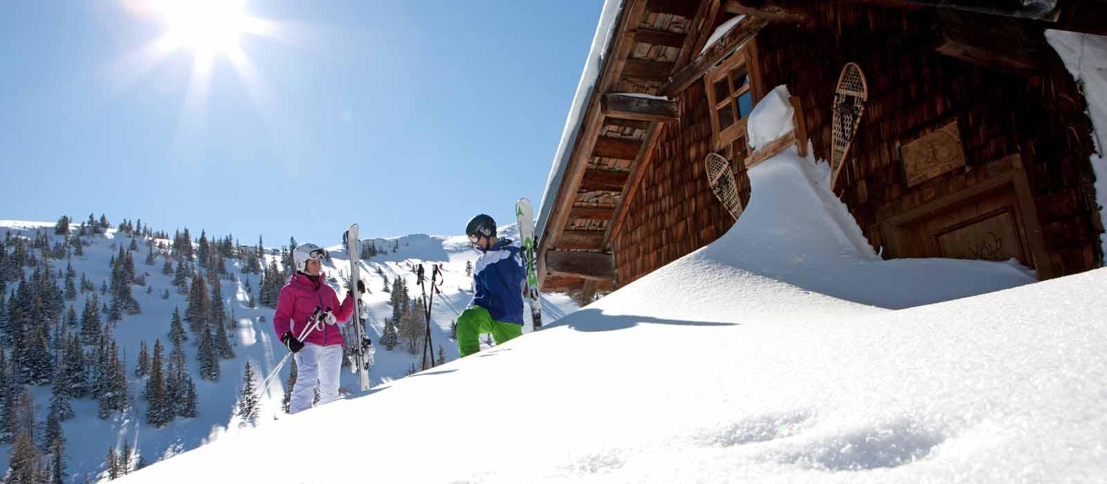 Skifahren in Gastein im Salzburgerland
