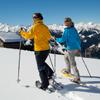 Schneeschuhwanderer