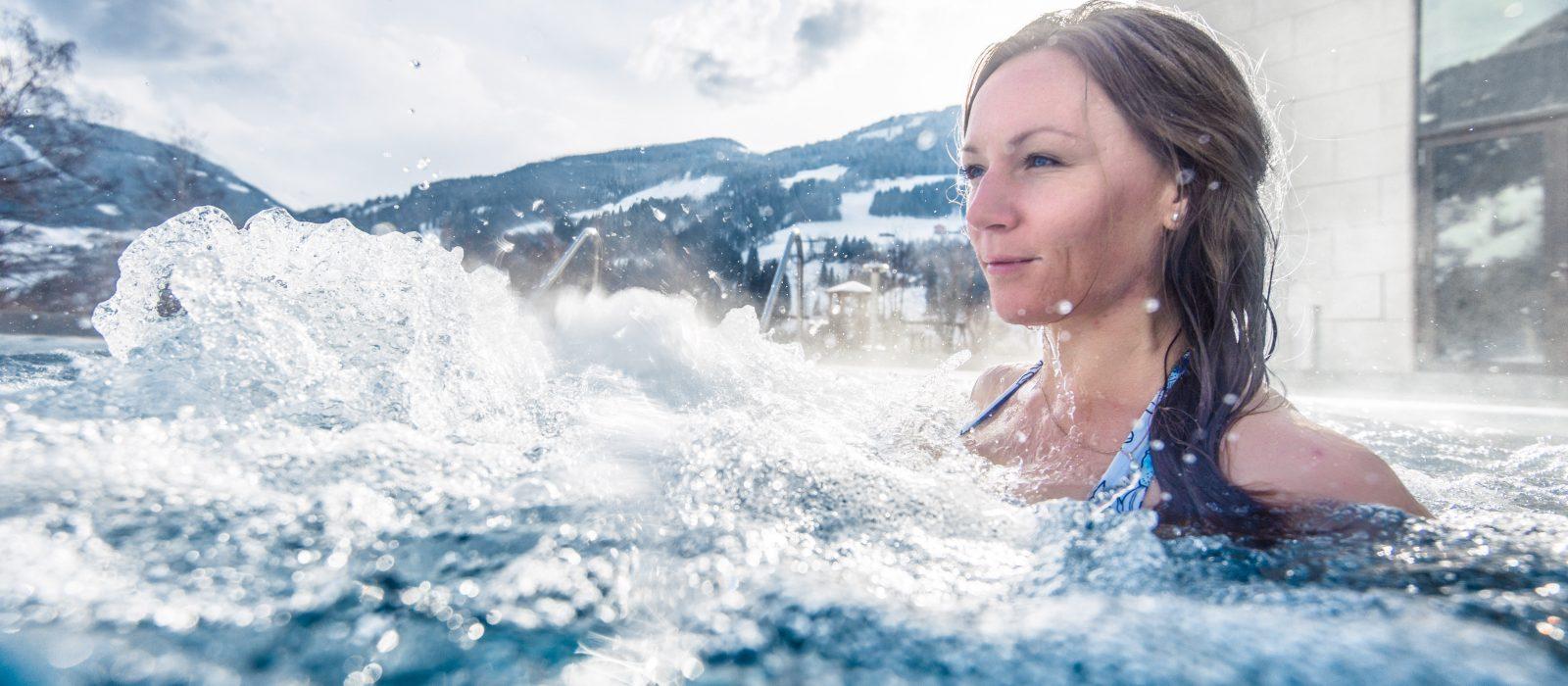 Entspannen im Thermalwasser in Gastein