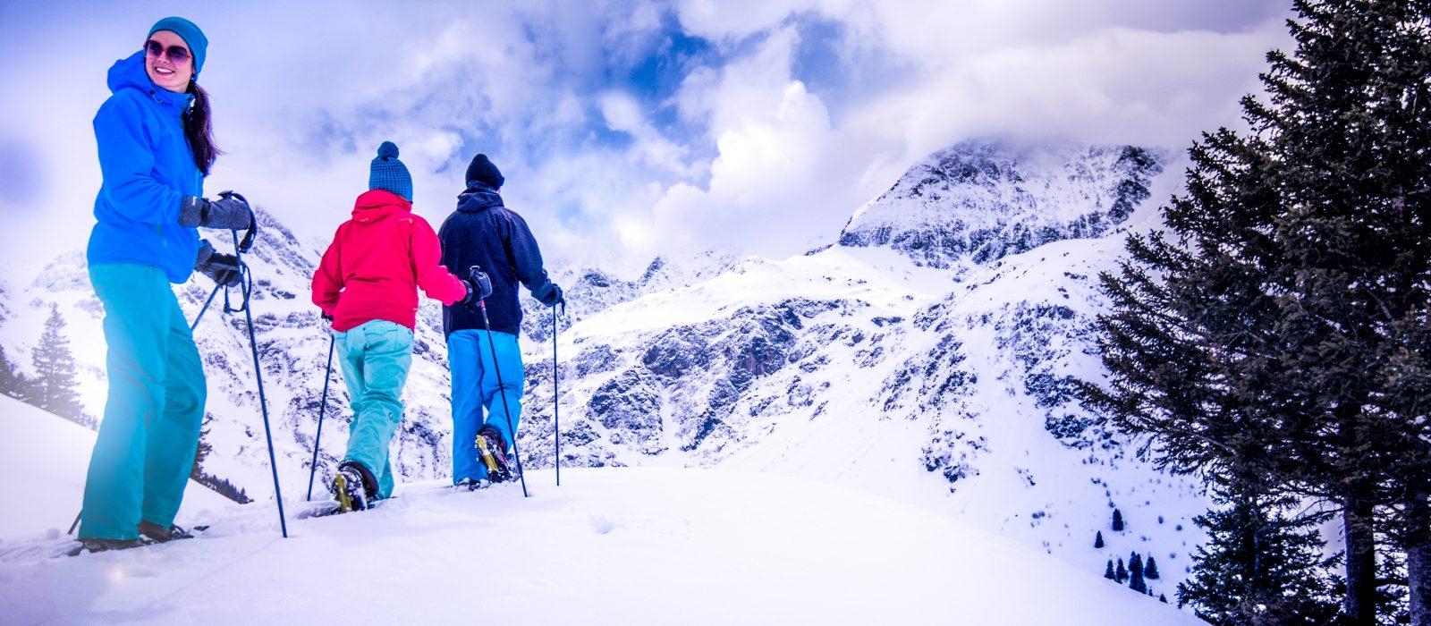 Schneeschuhwandern in Gastein